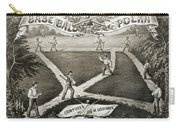 Baseball Polka, 1867 Carry-all Pouch