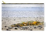 Beach Detail On Pacific Ocean Coast Carry-all Pouch by Elena Elisseeva