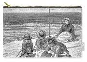 Beach Scene, 1879 Carry-all Pouch
