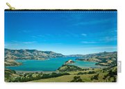 Beautiful Summer Day View Into The Akaroa Harbour Carry-all Pouch