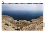 Beautiful View On Mediterranean Sea From Cape Gkreko In Cyprus Carry-all Pouch