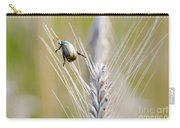 Beetle On The Wheat Carry-all Pouch