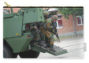 Belgian Infantry Soldiers Exit Carry-all Pouch
