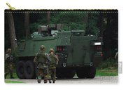 Belgian Infantry Soldiers Walk Carry-all Pouch by Luc De Jaeger