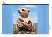 Ben Bear And Butterfly Carry-all Pouch