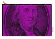 Ben Franklin In Purple Carry-all Pouch