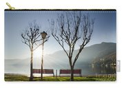 Bench And Trees Carry-all Pouch