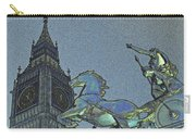 Big Ben And Boadicea  Carry-all Pouch