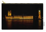Big Ben And Houses Of Parliament Carry-all Pouch