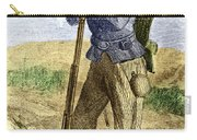 Black Civil War Soldier Carry-all Pouch