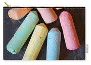 Blackboard Chalk Carry-all Pouch