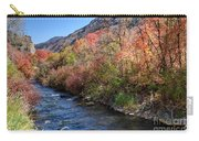 Blacksmith Fork River In The Fall - Utah Carry-all Pouch