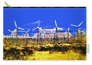 Blowing In The Wind Carry-all Pouch by David Lee Thompson