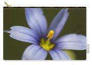 Blue-eyed Grass Wildflower - Sisyrinchium Angustifolium Carry-all Pouch