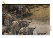 Blue Wildebeest Connochaetes Taurinus Carry-all Pouch