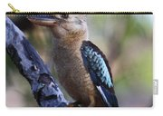 Blue-winged Kookaburra Carry-all Pouch