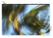 Blurred Palm Trees Carry-all Pouch