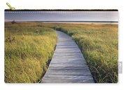 Boardwalk Along The Salt Marsh Carry-all Pouch