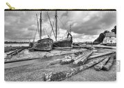 Boats And Logs At Pin Mill  Carry-all Pouch