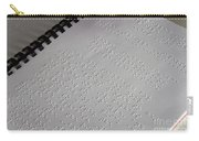 Braille Carry-all Pouch by Photo Researchers, Inc.