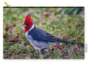 Brazillian Red-capped Cardinal Carry-all Pouch