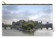 Bridges On River Seine. Paris. France Carry-all Pouch