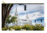 Brigham City Temple Street Lights Carry-all Pouch
