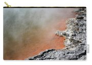 Bubbles Rising In Champagne Pool Hot Carry-all Pouch