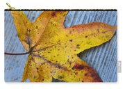 Burnished Gold On Wood Carry-all Pouch