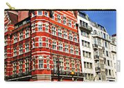 Busy Street Corner In London Carry-all Pouch by Elena Elisseeva