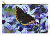 Butterfly In Blue Carry-all Pouch
