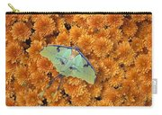 Butterfly On Flowers Carry-all Pouch