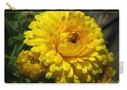 Calendula Named Bon-bon Yellow Carry-all Pouch