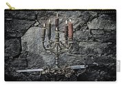 Candle Holder And Sword Carry-all Pouch by Joana Kruse