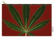 Cannabis Sativa, Marijuana Leaf Carry-all Pouch
