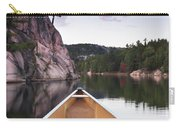 Canoeing In Ontario Provincial Park Carry-all Pouch