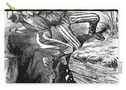Cartoon: Civil War, 1862 Carry-all Pouch