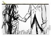Cartoon: Fdr & Workingmen Carry-all Pouch