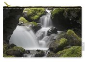 Cascading Creek In Temperate Rainforest Carry-all Pouch