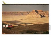 Castle Butte In Big Muddy Valley Of Saskatchewan Carry-all Pouch