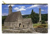Chapel Of Saint Kevin At Glendalough Carry-all Pouch
