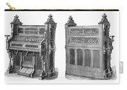 Chapel Organ, 19th Century Carry-all Pouch