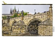 Charles Bridge And Prague Castle Carry-all Pouch