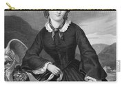 Charlotte BrontË Carry-all Pouch by Granger