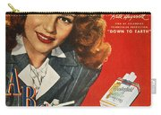 Chesterfield Cigarette Ad Carry-all Pouch by Granger