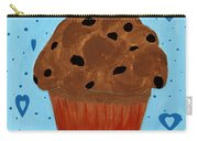 Chocolate Chip Cupcake Carry-all Pouch