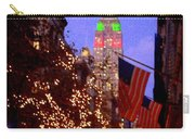 Christmas In New York Carry-all Pouch