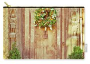 Christmas Wreath Carry-all Pouch by Tom Gowanlock