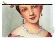 Clara Schumann (1819-1896) Carry-all Pouch