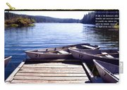 Clear Lake At Mckenzie Pass Carry-all Pouch